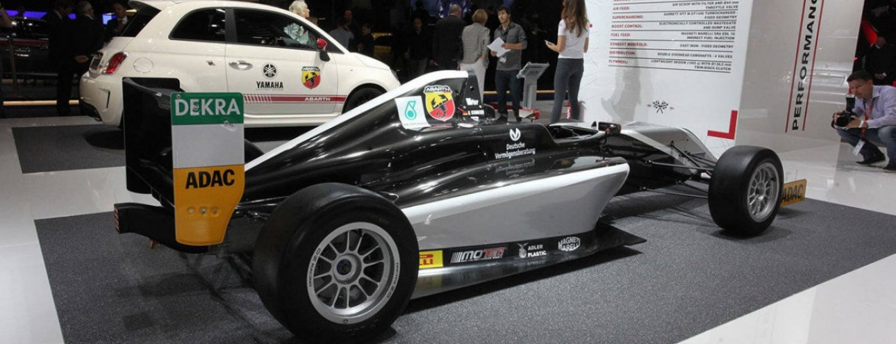 Abarth al Salone di Francoforte 2015.